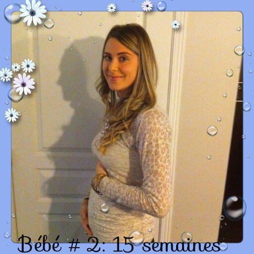 15 semaines de grossesse