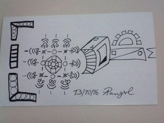 Zeichnung von 13/10/2016