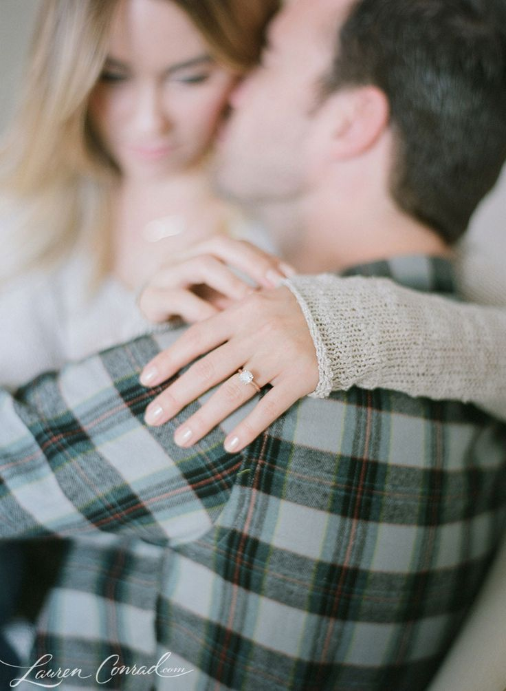 Lauren Conrad Engagement Photo