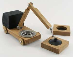 Poorex Wooden Toys #Trucks #Wood #Xmas http://www.trendhunter.com/