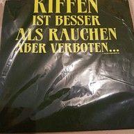 T- Shirt - Kiffe... ist besser als rauchen aber verboten - Gr. L - neu in Folie