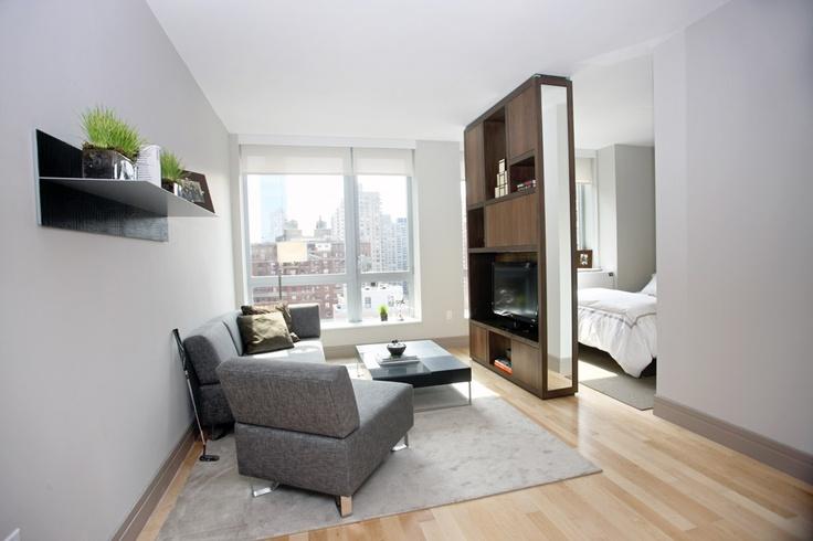 alcove studio apartment example Hip Happy House Pinterest