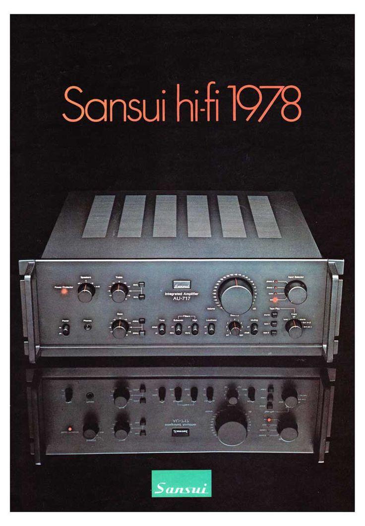 1978 Sansui brochure