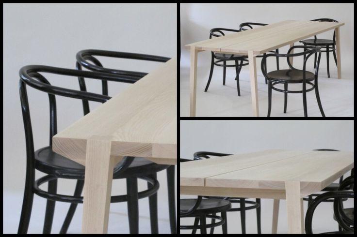 Matbord i ask, Byrå möbel och rumsgestaltning