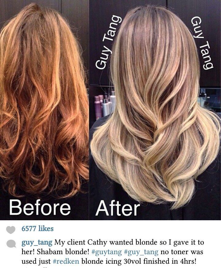 Redken Blonde Icing 30v Only How To Hair Color