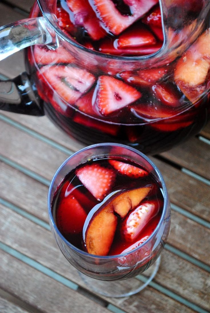 Cherry Sangria – Secret Recipe Club | Fat Girl Trapped in a Skinny Body