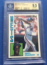 1984 Topps Tiffany Darryl Strawberry BGS 9.5 GEM MINT ROOKIE RC! METS High Subs!