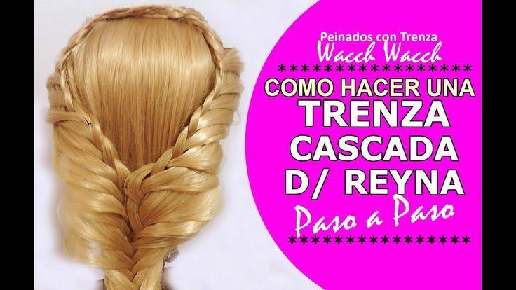 Peinados Faciles y Rapidos con Trenzas de Reyna – Como hacer trenzas Paso a Paso