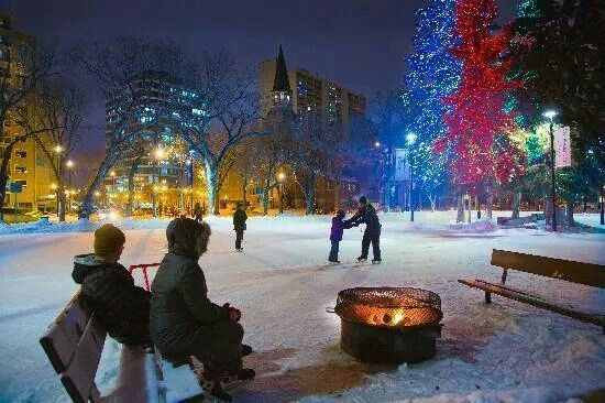 Christmas in Saskatoon
