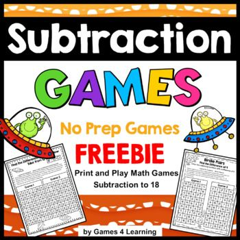 The 25+ best Subtraction games ideas on Pinterest Subtraction - subtraction table