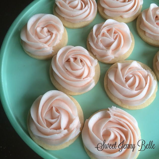 Summer Fun - Cotton Candy Cookie and Buttercream Icing Recipe | Sweet Jenny Belle Bakery