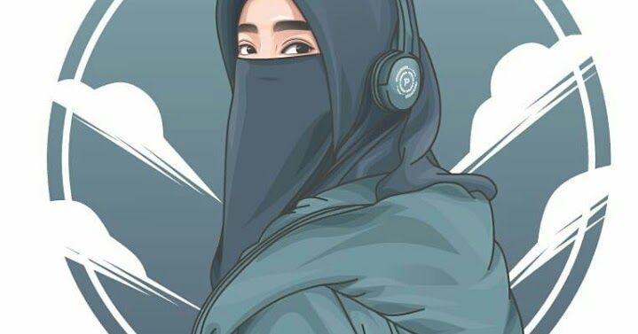 13 Gambar Kartun Wanita Berhijab Modern Dp Bbm Wanita Muslimah Bercadar Terlengkap Kata Mutiara 30 Gambar Kartun Muslimah Bercadar Sya Di 2020 Kartun Gambar Animasi