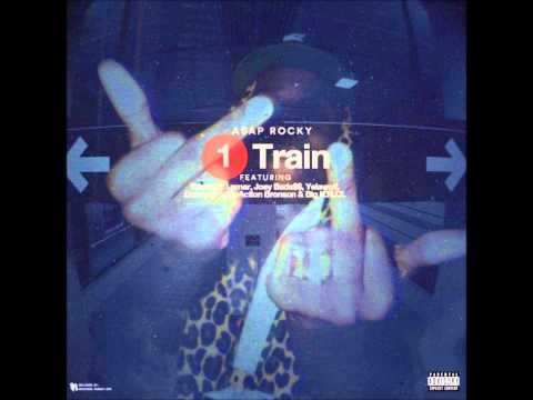 ASAP Rocky feat Kendrick Lamar, Joey Bad A$$, Yelawolf, Danny Brown, Action Bronson - 1 Train