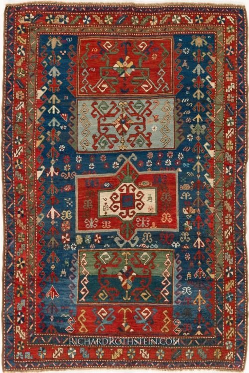Kazak Antique Oriental Rug