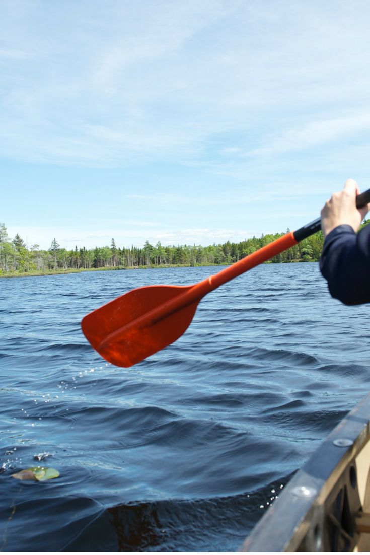 June 20, 2015. Summer Celebration Event: Canoeing on Cochan Lake at Forest Lakes Country Club.