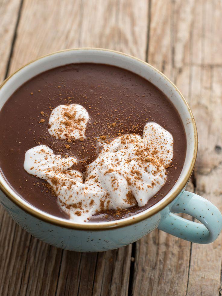 Goraca czekolada przepis (weganskie, bezglutenowe, bez cukru) roślinny blog wegański
