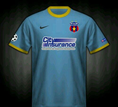 Steaua Bucharest away shirt for 2013-14.