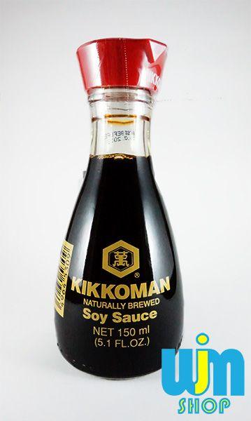 Kikkomab Soy Sauce Kemasan: Botol Kaca Isi: 150 ml Berat: 500gram Bahan: lihat kemasan botol  Ongkos kirim di  x 2 dengan berat pesanan karena mesti di packing kayu agar menghindari barang pecah  Minat: SMS/WA: 08996752411 PIN BB: 57EE3E90 WEB: http://wjmshop.com/kikkoman-soy-sauce/