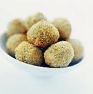 Fried tuscan olives