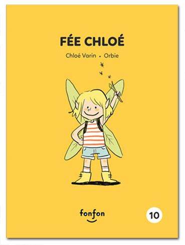 Fée Chloé - Illustrations Orbie