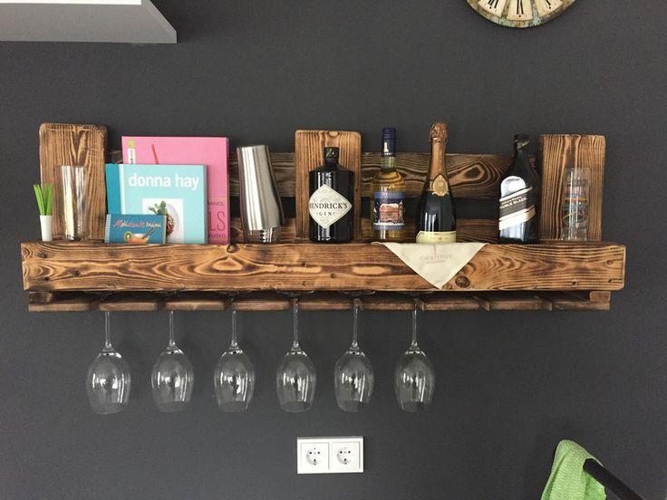 Holzpaletten Regal. Die Besten 25+ Weinregal Palette Ideen Auf
