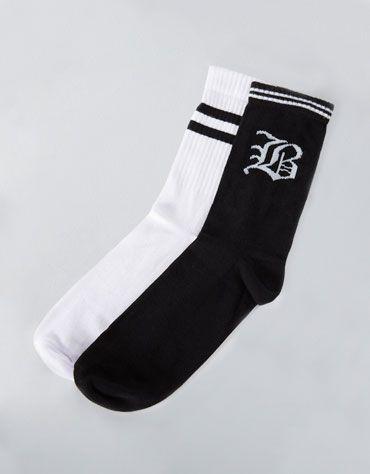 Set 2 pares calcetines rayas