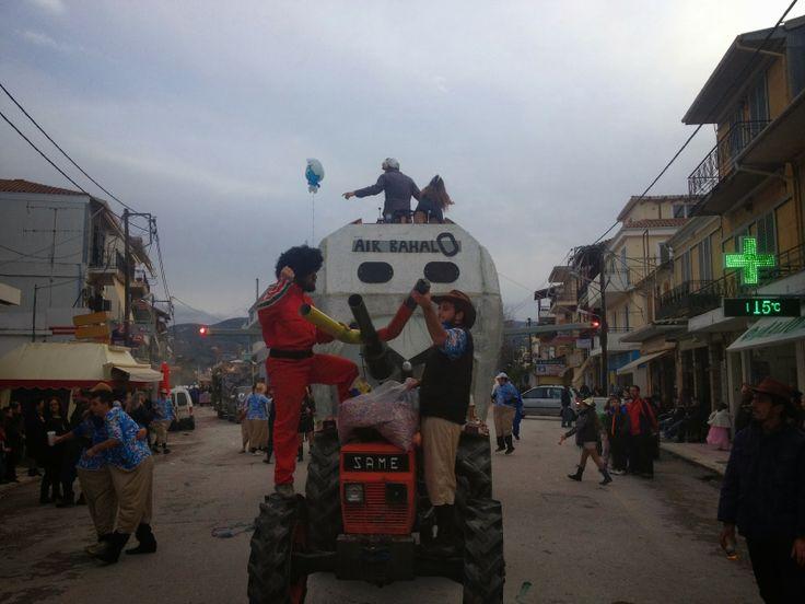 haradiatika lefkada: Air BahalO : Τρίτο καλύτερο άρμα στην καρναβάλικη ...