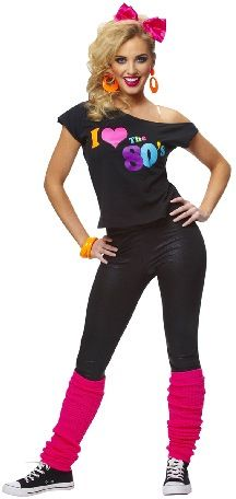 This year for our spring choir we r doing the 80's and I would love to wear this considering my choices.