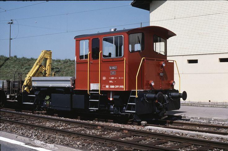 SBB Tm III 9527 (30.08.1987, Hirtzkirch)