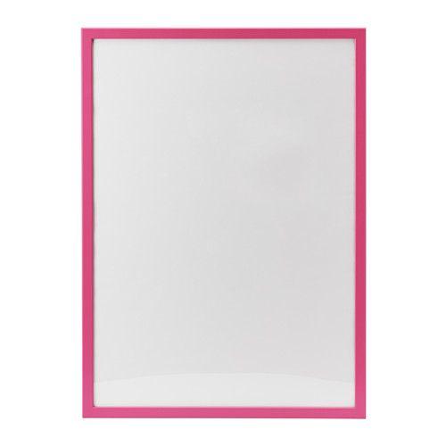 IKEA - FISKBO, Cornice, 50x70 cm, , Si può appendere orizzontalmente o verticalmente, per adattarsi allo spazio che hai a disposizione.