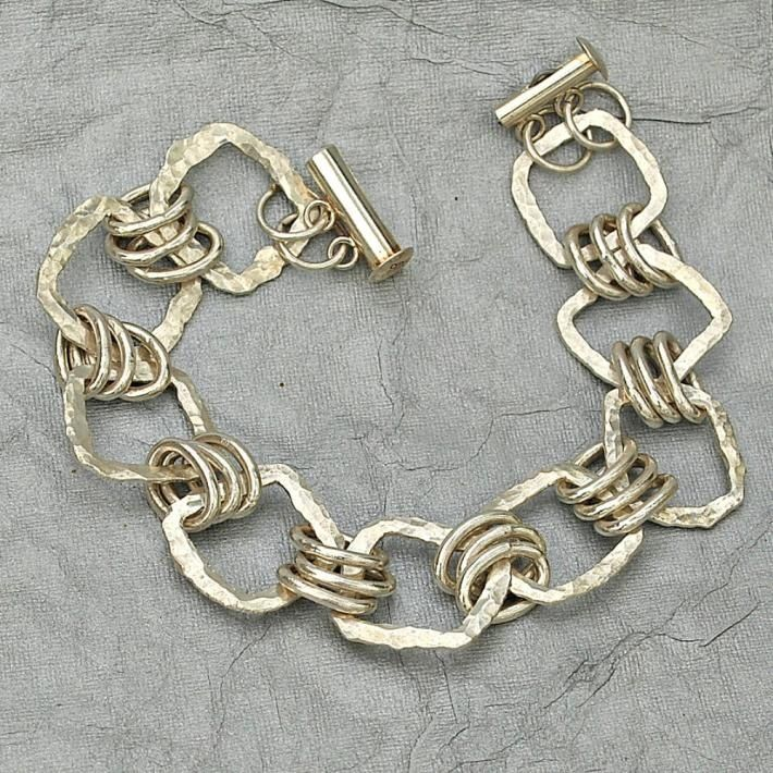 Wire Bracelets With Charms: 25+ Best Ideas About Chain Link Bracelets On Pinterest