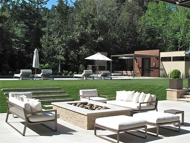 Moderne Garten Gestaltung Ideen Möbel Komplett Weiß   Out.   Pinterest    Garden Furniture, Hgtv And Gardens