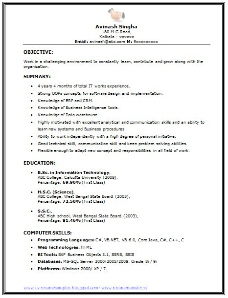 25+ unique Job resume samples ideas on Pinterest Job resume - business intelligence resume