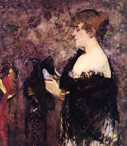 Edouard Manet, The Milliner, 1881 Quelle: art-yearly