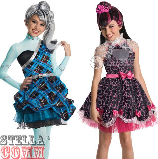 Halloween Costumes Of Monster High