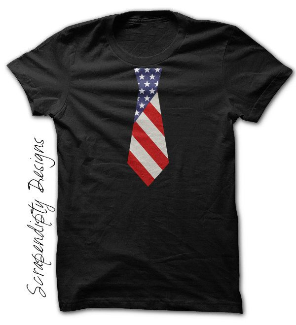 American Flag Shirt - Fourth of July Outfit / 4th of July Baby Boy / Toddler Boys Patriotic Shirt / Kids Flag Tie / Mens 4th of July Shirt by Scrapendipitees on Etsy