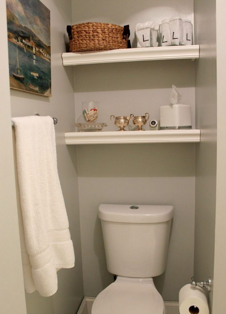 40+ The Most Neglected Answer for Bathroom Shelves over Toilet – beterhome   – B…   – most beautiful shelves