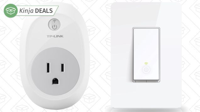 TP-Link's Smart Plug is one of the cheapest and easiest ways to dip your toes into home automation, and both the Plug and its smart light switch sibling are on sale for the best prices we've seen in months. Both can be scheduled and toggled from anywhere via a free smartphone app, and if you have an Amazon Echo, you can even control them with your voice.