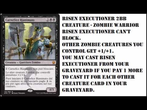 BEST Mythic Zombie Lord Dragons of Tarkir Spoilers