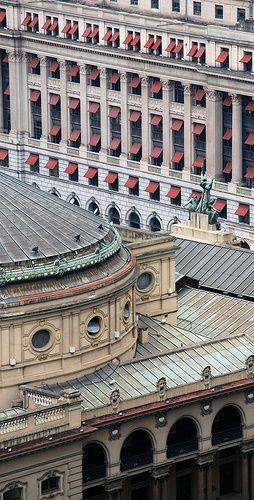 Detalhes do Teatro Municipal de São Paulo