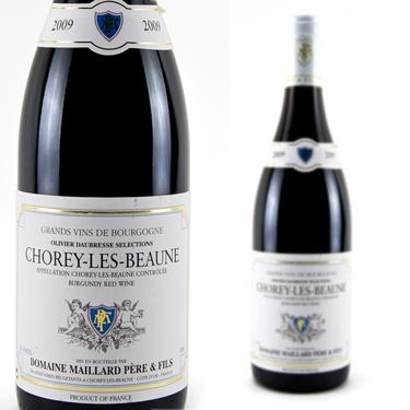 2009 Domaine Maillard Pere & Fils Pinot Noir (Chorey-Les-Beaune) Chorey Les Beaune (Red Wine, Cote d'Or, France) $36.95