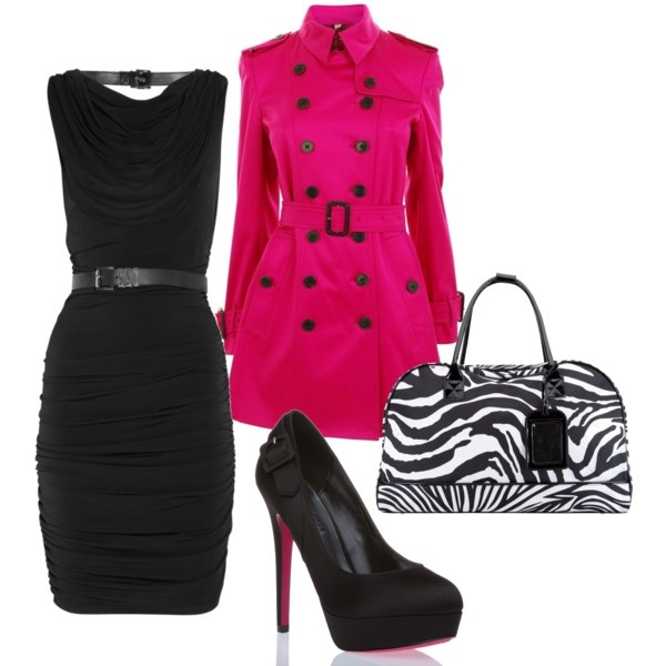 Hot Pink, created by styleofe.polyvore...