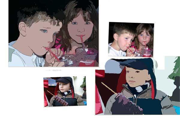 Convierte cualquier fotografía en un vector o en caricaturas Gratis
