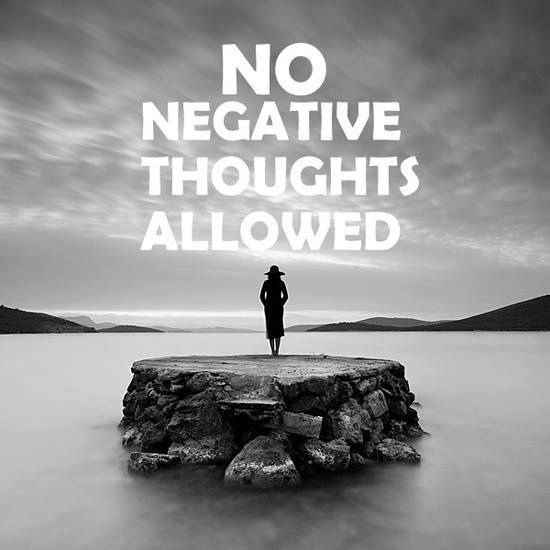 25+ best ideas about Negative thoughts on Pinterest  Negative thoughts quote...