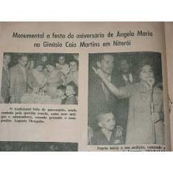 """RARA REVISTA """"CANTA MOÇADA """" Nº 13 DOS ANOS 1950,  TRAZ NOTÍCIAS SOBRE O MUNDO MUSICAL DO RÁDIO  COM FOTOS EM P & B, DAS CELEBRIDADES DA ÉPOCA."""