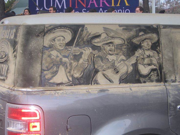Best Dirty Car Art Images On Pinterest Cars Drawing And L - Scott wade makes wonderful art dusty car windows