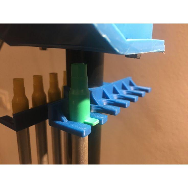 Primer tubes holder for dillon