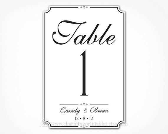 Best 25+ Printable wedding table numbers ideas on Pinterest - numbers templates free
