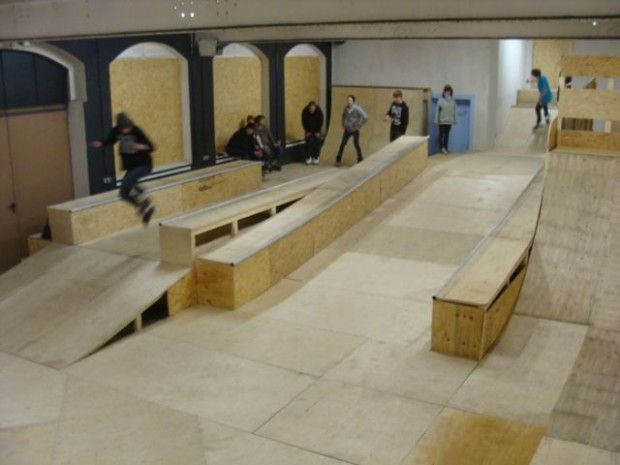 Image result for interior skateparks