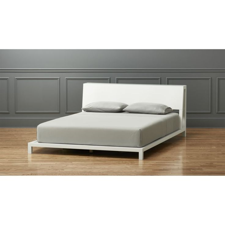 Shop alpine white bed.   New angle on sleeping quarters of the metal kind.